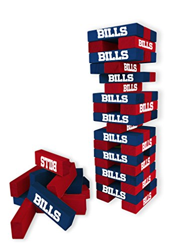 Wild Sports NFL Buffalo Bills Table Top Stackers Game