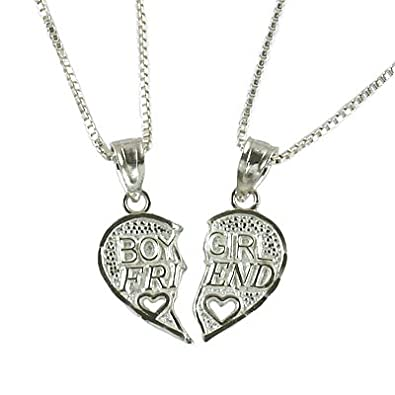 Girls Sterling Silver Hearts Locket with 16