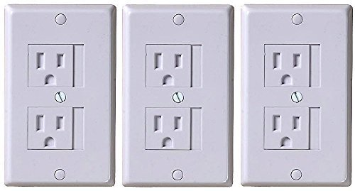 KidCo Universal Outlet Cover 3 Pack - White