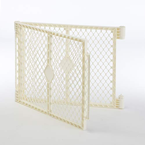 """Superyard Ultimate Play Yard Two-Panel Extension"" by North States: Adds 2 panels to ""Superyard Ultimate"" for an extra wide gate or portable play yard (Adds up to 48″, ivory)"