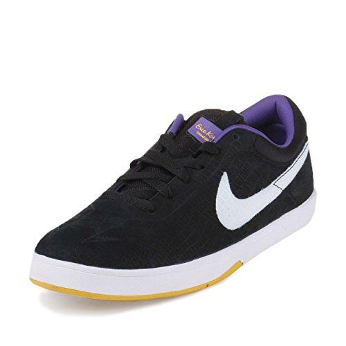 Nike Heren Sb Eric Koston Premium Zwart / Wit-varsity Maize-varsity Paars Suede Maat