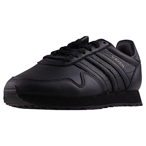 adidas Haven Mens Trainers Black Black - 10 UK