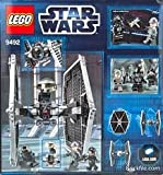 Game / Play LEGO Star Wars Tie Fighter 9492, Features Tie fighter and 1 weapon, Battle the 9493 X-wing Toy / Child / Kid