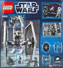 Game-Play-LEGO-Star-Wars-Tie-Fighter-9492-Features-Tie-fighter-and-1-weapon-Battle-the-9493-X-wing-Toy-Child-Kid