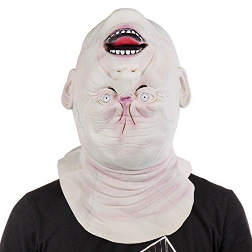 Makeup Halloween Masks (Creepy Halloween Mask Full Face Latex Makeup Dance Mask Mask)