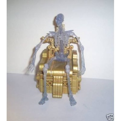 Indiana Jones - Crystal Skeleton with Throne - Limited Edition Mail-Away Exclusive 2008 - in The Original White Mailer Box