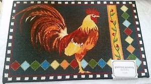 Amazon.com: The Pecan Man ROOSTER KITCHEN RUG (non skid ...