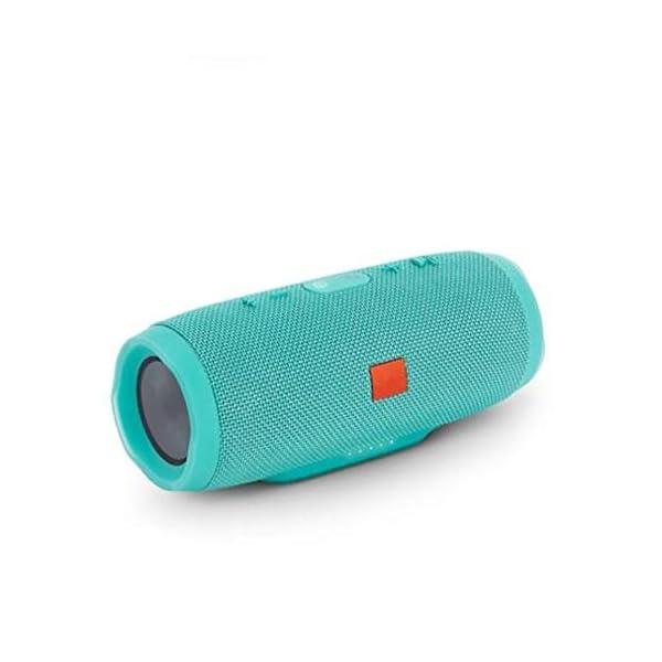 Haut-Parleur Portable Bluetooth étanche Voyage en Plein airRouge sans Fil Audio 213mmx87mm de Subwoofer de Haut-Parleur de Bluetooth de Tissu 3
