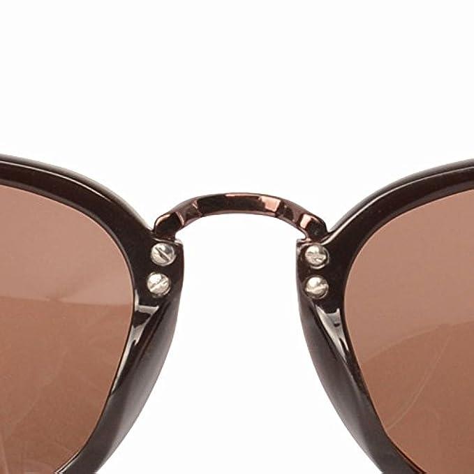 Sole Uv brown-onesize Large Frame Coreani Di Irregular Gaoq Casual In Blindfold Occhiali Agli Resistente Moda Da Coreano Cycling Metallo