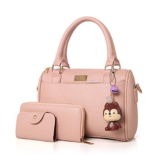 PU Rougir Bag De À sac Blushing Women's Sacs QZTG Grande Pink à Tout Set Main Bags Fourre Purple Zipper Capacité main Gray wxXq1U6UnY