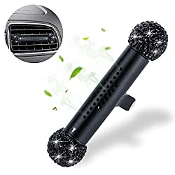 Rhinestone Crystal Car Air Freshener Vent Clip