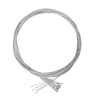 MagiDeal 20Pcs Bike Shift Shifter Derailleur Cable Galvanized Steel Inner Wire 2m 1mm