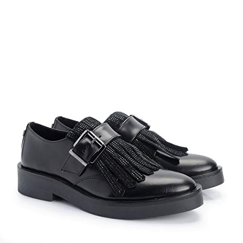 Mujeres Lem13 Zapatos Guess Casual Black Flan24 vTSqw