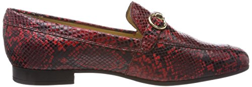 C7452 Geox F Scarlet Red Women's Marlyna Loafers D wqqrUfAx0