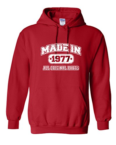 40th Birthday Pullover Hoodie - 4