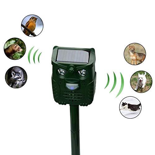 TOSHUN 1PCS Mode Outdoor Solar Animal LED Infrared Sensor Remove