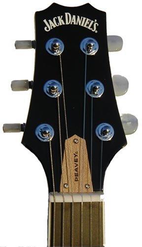 Peavey 00580450 Jack Daniels EXP - Guitarra eléctrica, color transparente y negro: Amazon.es: Instrumentos musicales