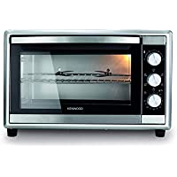 KENWOOD ELECTRIC OVEN 2200W Power, Large Capacity 56L, 120 min timer, 6 cooking position, Silver Colour - MOM56.000SS