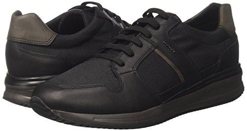 A Hombre Black Zapatillas Dennie U para Negro Geox wSARzvxW