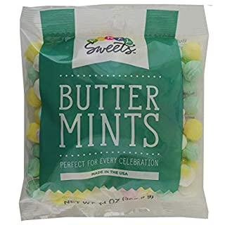 Party Sweets Assorted Pastel Buttermints, 14 Ounce, Appx. 100 pieces from Hospitality Mints