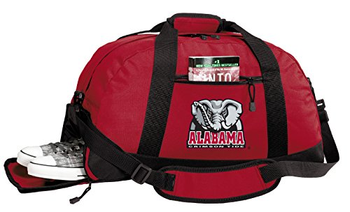 Broad Bay Alabama Duffle Bags - University of Alabama Gym Bag w/Shoe Pockets