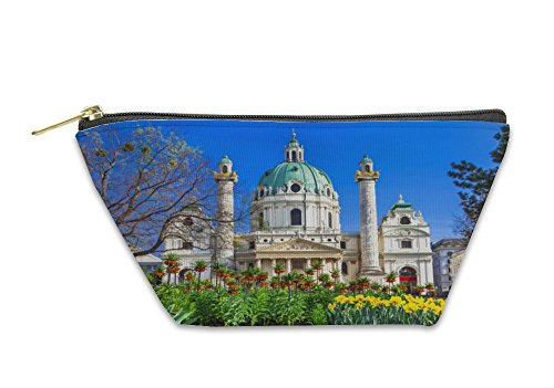 Gear New Accessory Zipper Pouch, Vienna Beautiful Baroque St Charles Church, Large, 5904247GN by Gear New
