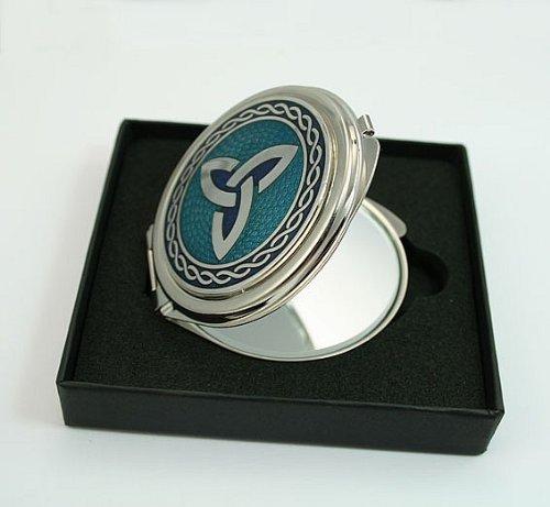 LJ Designs Celtic Trinity Knot Compact Mirror (SG11)