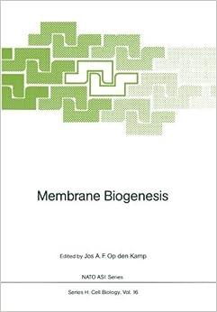 Membrane Biogenesis (Nato ASI Subseries H:) (1988-01-01)
