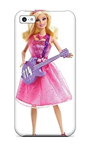 ipod touch4 Case Cover - Slim Fit Tpu Protector Shock Absorbent Case (barbie Barbie)