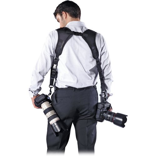4188wpfpJ0L cameraslingers cf fs double camera strap (black) amazon ca dual camera harness at fashall.co