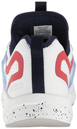 Reebok Heren Woede Aanpassen Ac Mode Sneaker Wit / Collegiaal Marine / Oer Rood