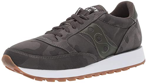Saucony Originals Men's Jazz Original Sneaker, Charcoal camo, 11 M US