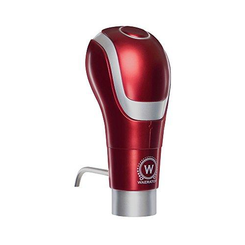 The Original WAERATOR Instant Electric Wine Aerator Dispenser Decanter; Enhances Flavor; Made for Wine Lovers