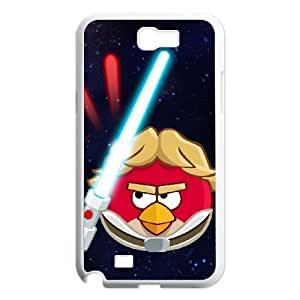 samsung n2 7100 phone case White Angry Birds Starwars XGE9478962