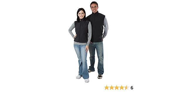 Gerbing Men/'s Softshell Vest Charcoal Gray MED
