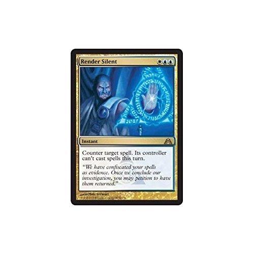 Magic: the Gathering - Render Silent - Rendere Silente - Dragon's Maze Wizard fo the Coast