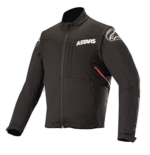 Session Race Off-Road Motocross Jacket (Medium, Black Red) ()