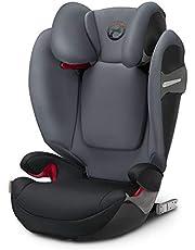 Cybex - Silla de coche grupo 2/3 Solution S-fix, para coches con y sin ISOFIX, 15-36kg, desde los 3 hasta los 12 años aprox.