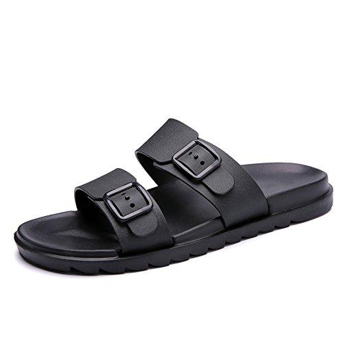 da Sandali Style shoes morbido indossare antiscivolo Due da scarpe da Nero Trascina New Color Fondo British Casual per da Traspirante Pure Jiuyue uomo uomo Scarpe spiaggia spiaggia 7S5dwx7q