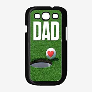 Golf Ball Dad Plastic Phone Case Back Cover Samsung Galaxy S3 I9300