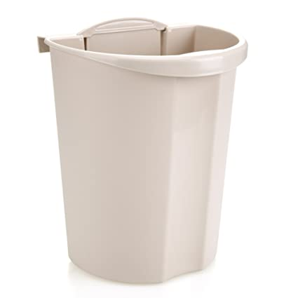 f37bc0712007 Amazon.com: Wall-mounted trash cans/thicken,height,plastic trash ...