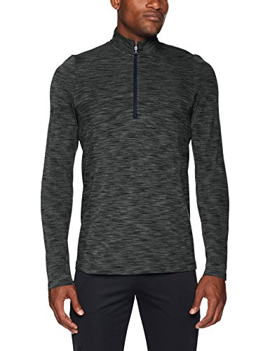 Under Armour Men's Siphon 1/2 Zip Sweatshirt, Artillery Green (357)/Black, X-Large
