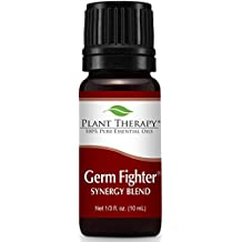 Plant Therapy Germ Fighter Synergy Essential Oil 10 mL (1/3 oz) 100% Pure, Undiluted, Therapeutic Grade