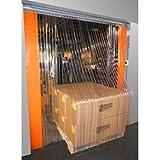 Door Curtain - Plastic Strips - 5' W X 8' H