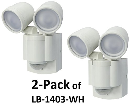 Twin Head Led Security Light