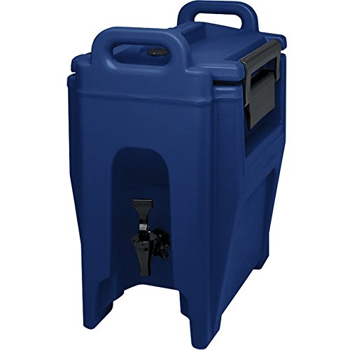 TableTop King UC250186 Navy Blue Ultra Camtainer 2.75 Gallon Insulated Beverage ()