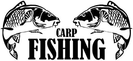 Color : White Personalized car stickers caza pesca de la carpa pegatinas hombre ara/ñazos del coche pegatinas pegatinas 14.3cmx6.5cm csfssd
