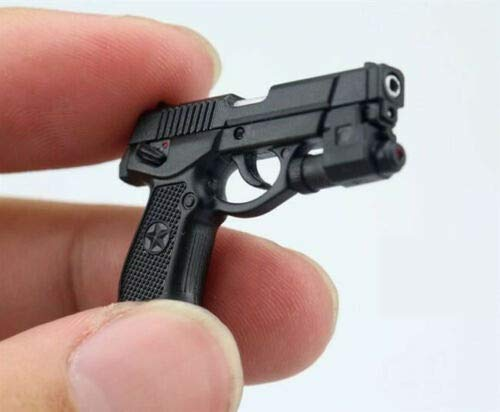 "QSZ92 Semi-automatic Pistol Weapon Model 1//6 Plastic Rifle Gun Toy F 12/""  Figure"