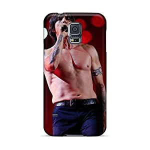 Samsung Galaxy S5 IDc16164Vvho Custom Colorful Red Hot Chili Peppers Pattern Shock-Absorbing Hard Phone Covers -KaraPerron