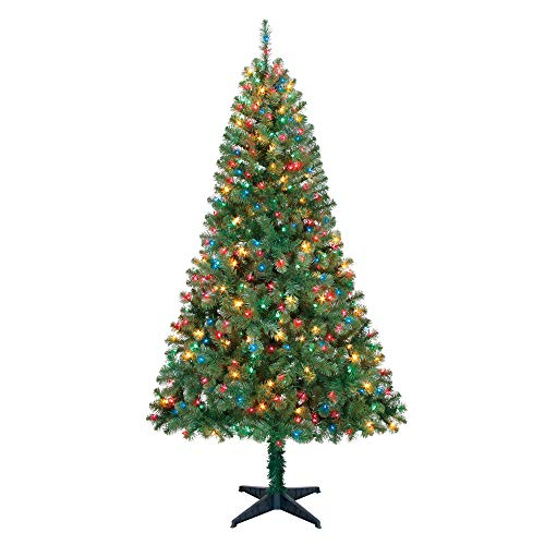 7 5 Artificial Christmas Tree With Led Lights in US - 9
